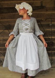 Wehavecostumes Has Modest Quality Homemade Colonial Day Dresses