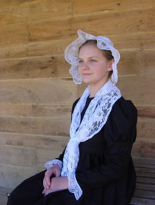 WeHaveCostumes Homemade Historical First Lady Abigail Adams Costume