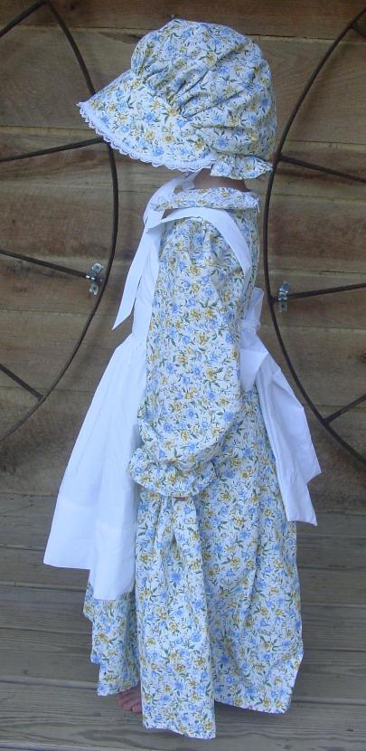 Wehavecostumes Quality Homemade Blue Yellow Pioneeer Girl