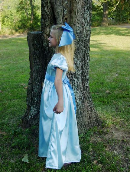 Wendy Costume Child Sizes & WeHaveCostumes Quality Homemade Wendy Darling Peter Pan Costume