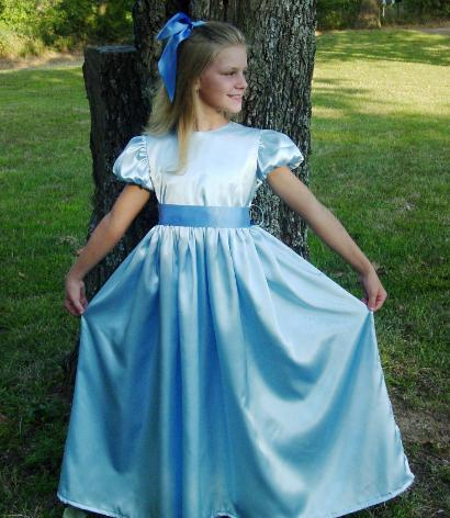 WeHaveCostumes Quality Homemade Wendy Darling Peter Pan Costume 282552abe